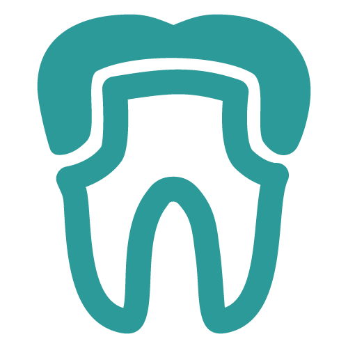 Icon of a dental crown